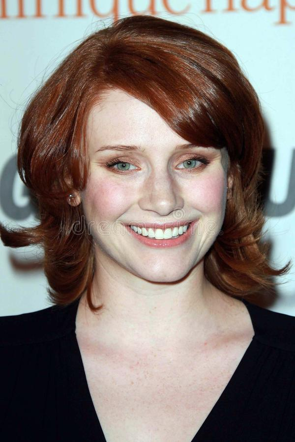 Bryce Dallas Howard. At the 2007 Glamour Reel Moments Party. Directors Guild Of America, Los Angeles, CA. 10-09-07 royalty free stock images