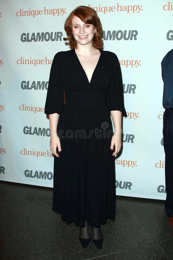 Bryce Dallas Howard. At the 2007 Glamour Reel Moments Party. Directors Guild Of America, Los Angeles, CA. 10-09-07 stock image