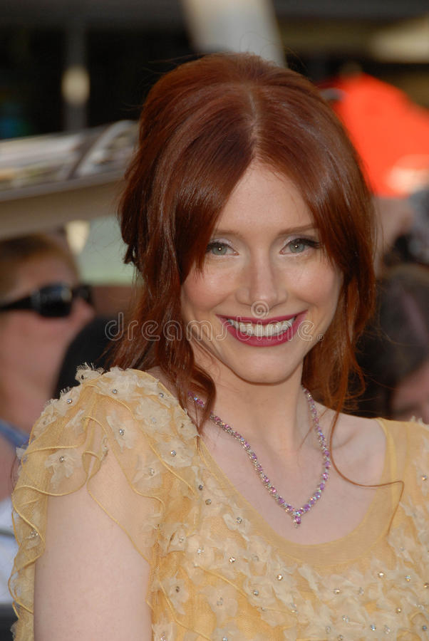 Download Bryce Dallas Howard editorial image. Image of howard - 24817500