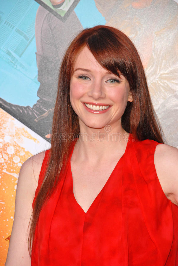 Bryce Dallas Howard. At the Los Angeles Premiere of The Losers, Chinese Theater, Hollywood, CA. 04-20-10 stock photo