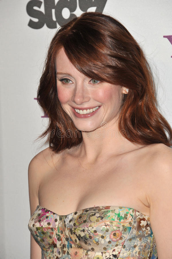 Bryce Dallas Howard. At the 14th Annual Hollywood Awards Gala at the Beverly Hilton Hotel. October 25, 2010 Beverly Hills, CA Picture: Paul Smith / Featureflash royalty free stock photo