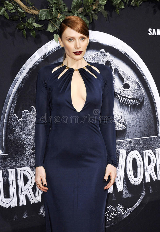 bryce Dallas Howard fotografia stock