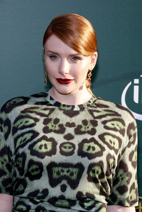 Bryce Dallas Howard images libres de droits