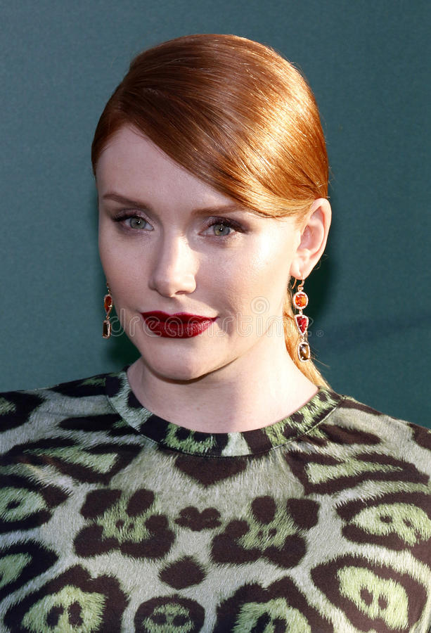 Bryce Dallas Howard image libre de droits