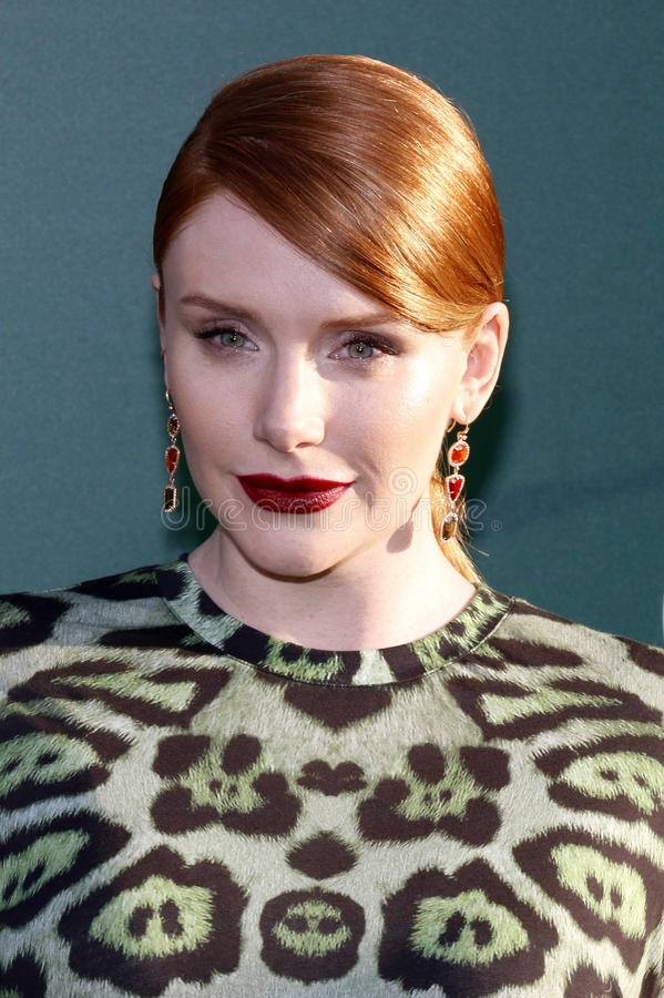 bryce Dallas Howard fotografia royalty free