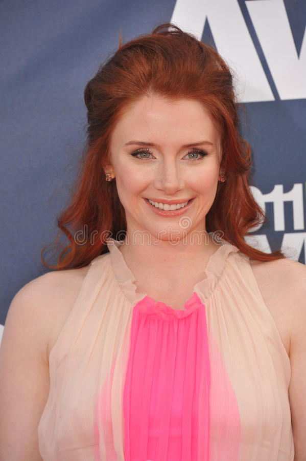 Bryce Dallas Howard. Arrives at the 2011 MTV Movie Awards at the Gibson Amphitheatre, Universal Studios, Hollywood. June 5, 2011 Los Angeles, CA Picture: Paul stock photography