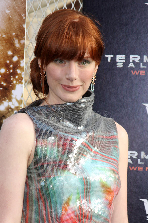 Bryce Dallas Howard. Arriving at the Terminator Salvation US Premiere at the Grauman's Chinese Theater in Los Angeles, CA on May 14, 2009 2009 Kathy Hutchins / stock images