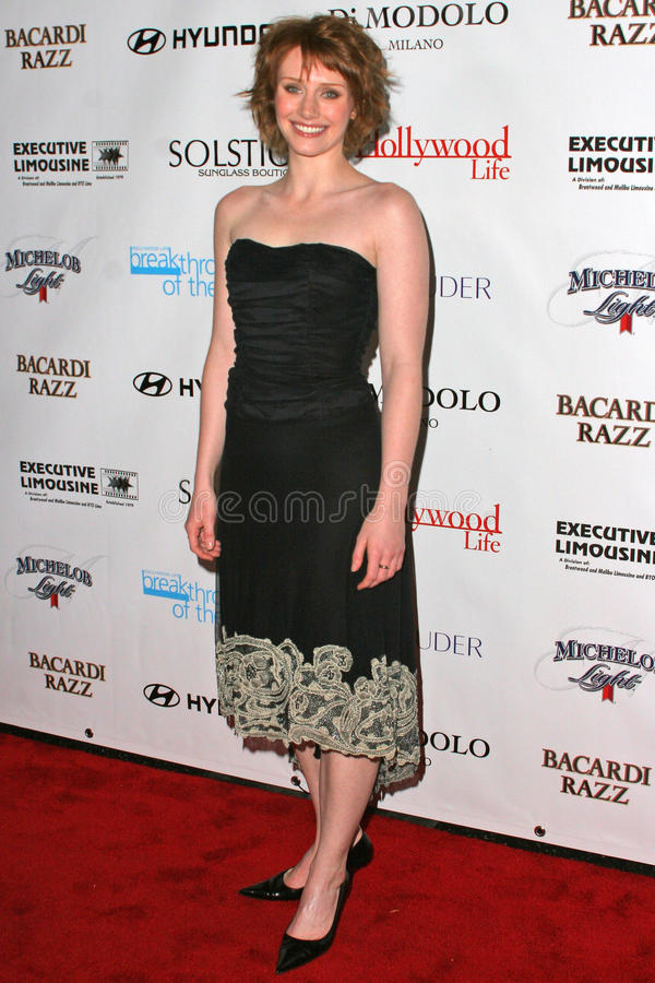 Bryce Dallas Howard. At Movieline's Hollywood Life 2004 Breakthrough Awards at the Henry Fonda Music Box Theater, Hollywood, CA. 12-12-04 royalty free stock photos