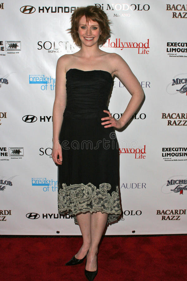 Bryce Dallas Howard. At Movieline's Hollywood Life 2004 Breakthrough Awards at the Henry Fonda Music Box Theater, Hollywood, CA. 12-12-04 stock photo