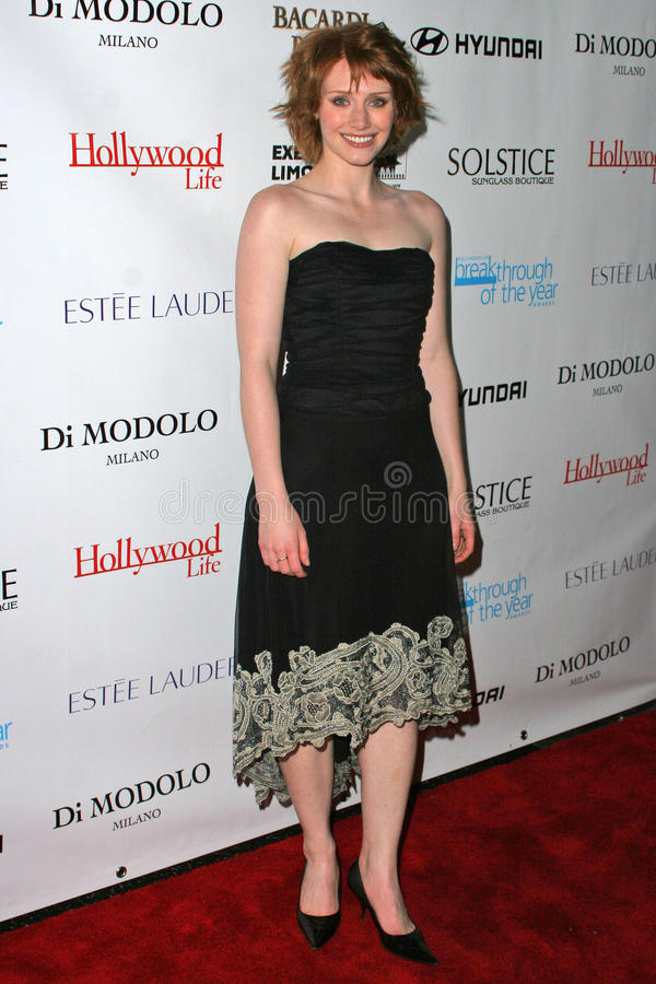 Bryce Dallas Howard. At Movieline's Hollywood Life 2004 Breakthrough Awards at the Henry Fonda Music Box Theater, Hollywood, CA. 12-12-04 royalty free stock image