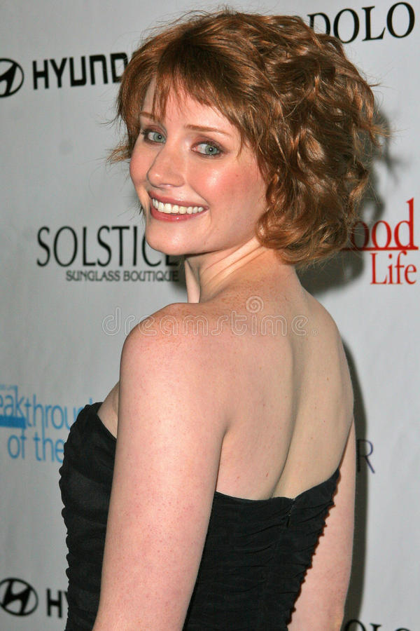 Bryce Dallas Howard. At Movieline's Hollywood Life 2004 Breakthrough Awards at the Henry Fonda Music Box Theater, Hollywood, CA. 12-12-04 royalty free stock images
