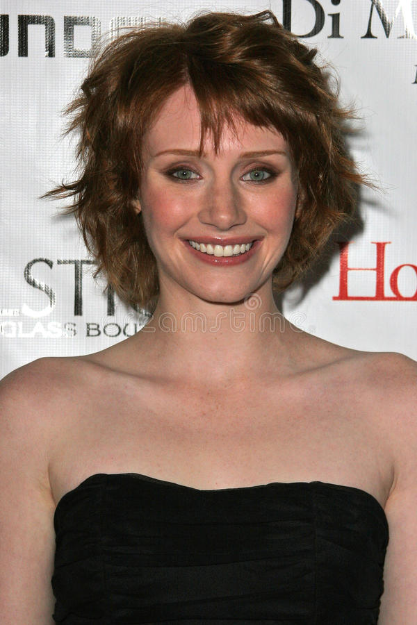 Bryce Dallas Howard royalty free stock photography