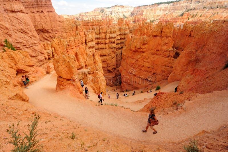 bryce jaru park narodowy Utah fotografia stock