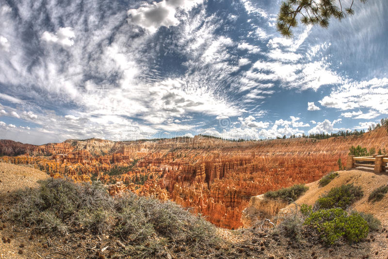 Bryce National Park lizenzfreie stockbilder