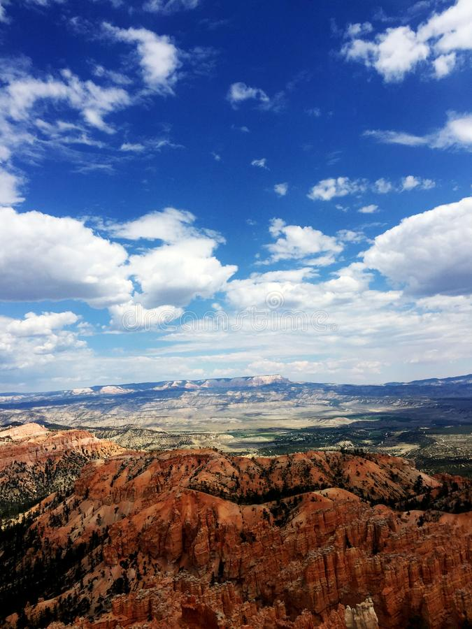 Bryce Canyon National Park Scenic View stock photography
