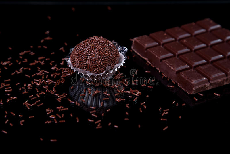 brygadzista czekolada zdjęcia royalty free