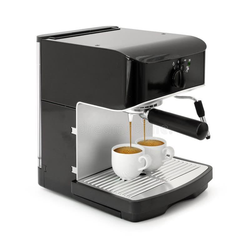 brygga kaffeespresso arkivfoto