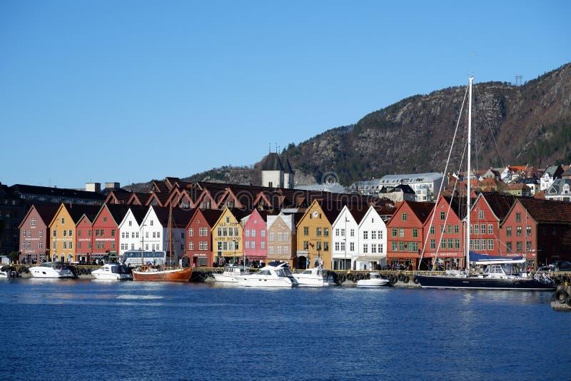 Bryggen à Bergen, Norvège photographie stock