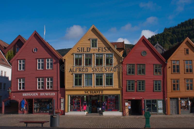Bryggen fotografia royalty free