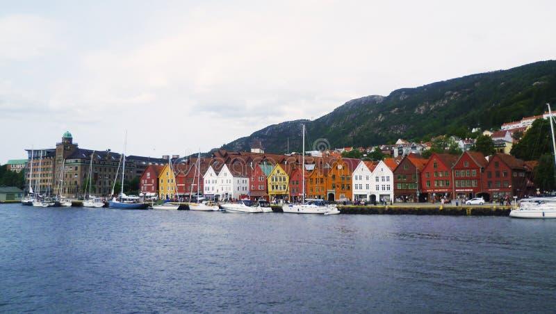 Bryggen images libres de droits