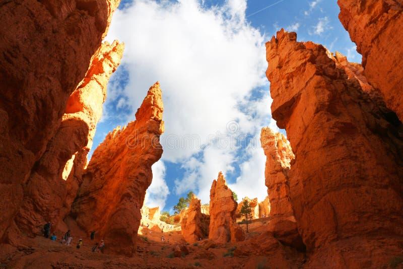 Bryka jaru park narodowy jest Stany Zjednoczone parkiem narodowym w Utah jaru kraju zdjęcia royalty free