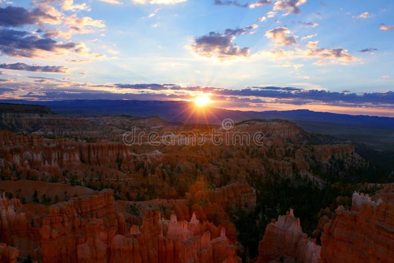 Bryka jaru park narodowy jest Stany Zjednoczone parkiem narodowym w Utah jaru kraju obrazy royalty free