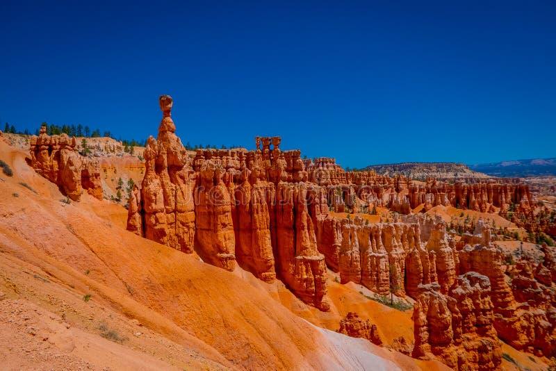 Bryka jaru park narodowy przy Navajo pętli śladem, Utah obrazy royalty free