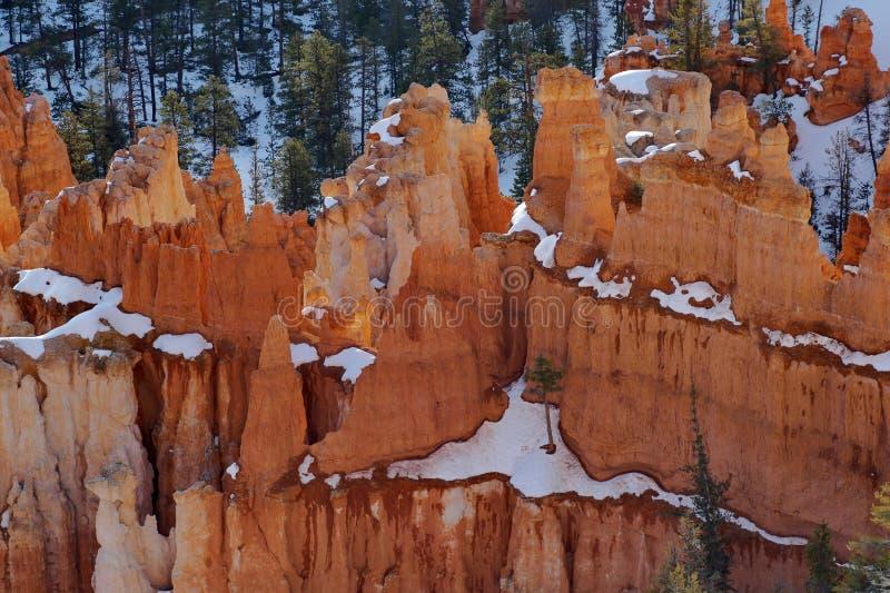 Bryka jaru park narodowy, Utah fotografia stock