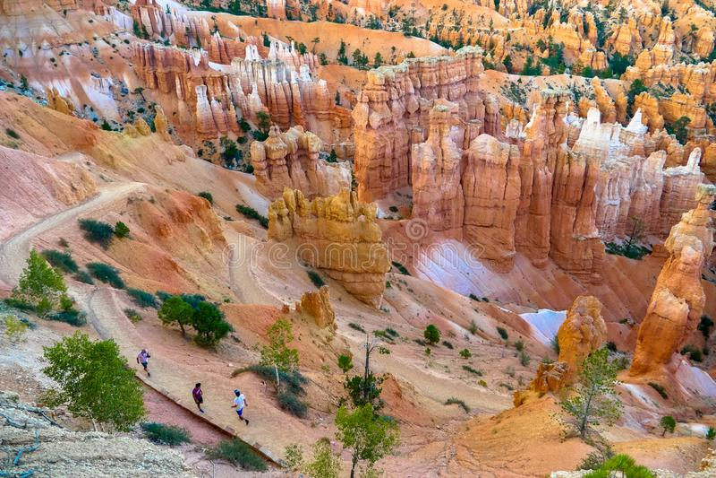 Bryka jaru park narodowy, Utah, usa fotografia royalty free