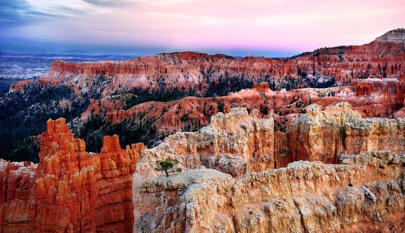 Bryka jaru park narodowy w Utah, usa fotografia stock