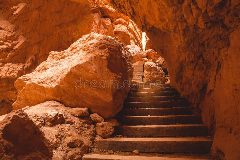 Bryka jaru schody zdjęcie royalty free