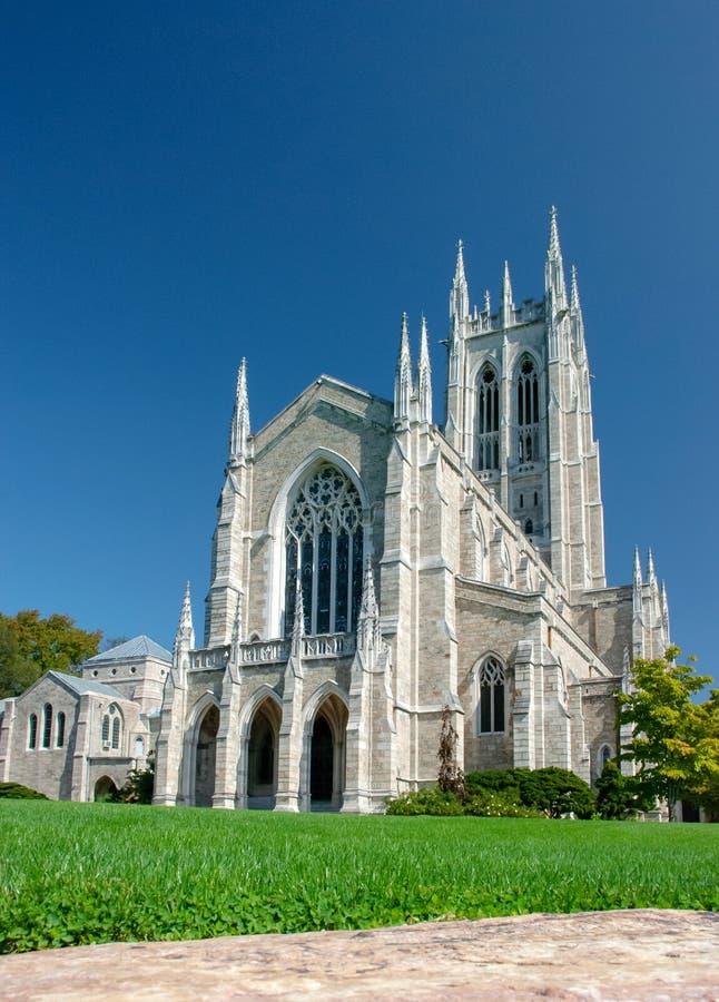 Bryn Athyn大教堂是新耶路撒冷的一般教会的主教位子 宾夕法尼亚 免版税库存图片