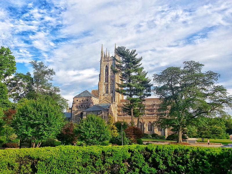 Bryn Athyn Cathedral images stock
