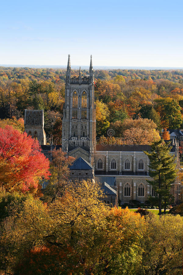 Bryn Athyn Cathedral photo libre de droits