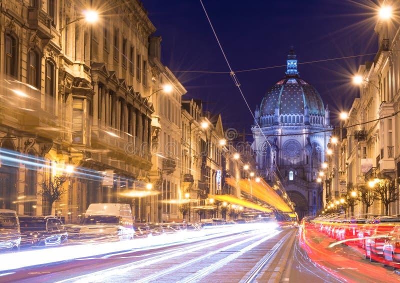 Bryssel Bruxelles, Belgien royaltyfri fotografi