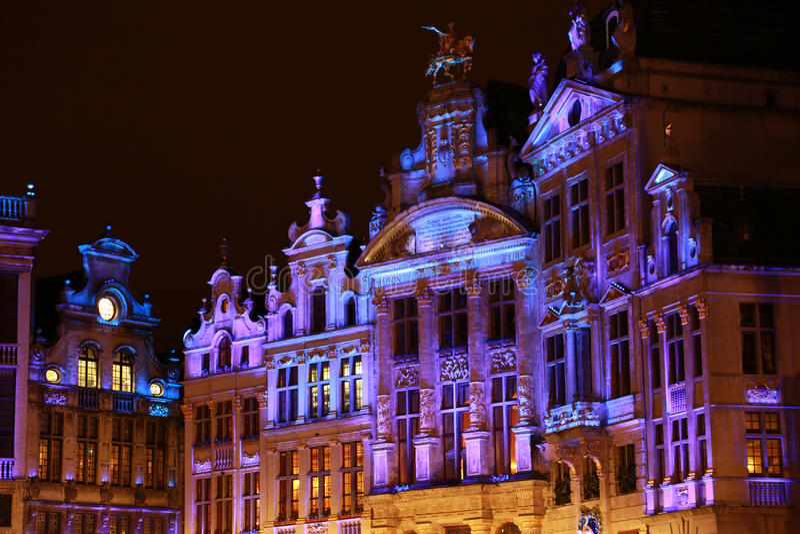 Bryssel vinterunder - 05 arkivfoto
