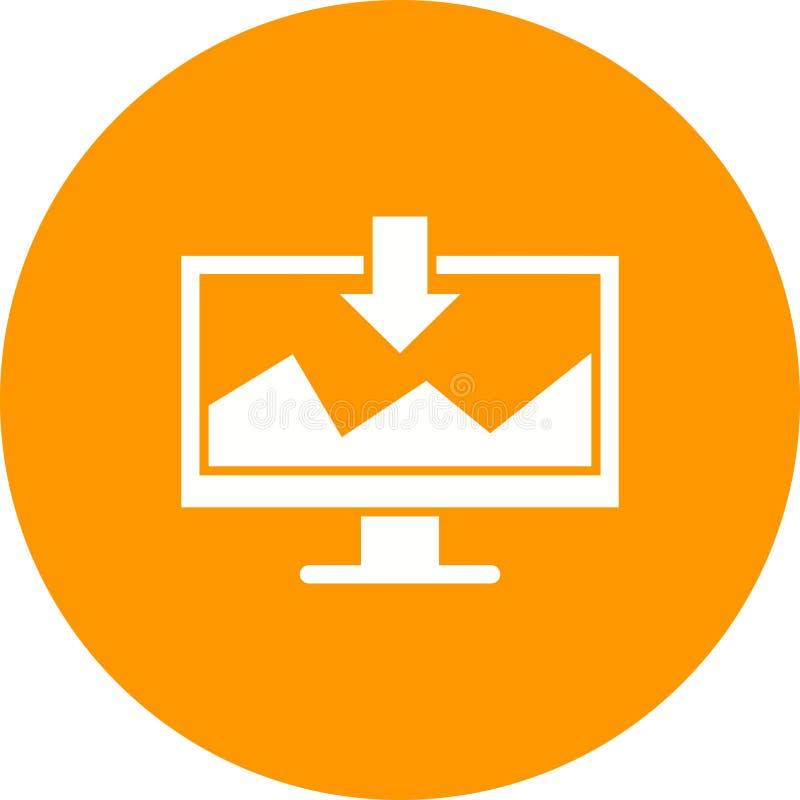 Bryta för data royaltyfri illustrationer