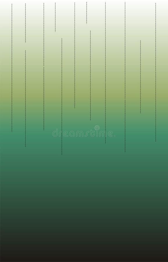 Bryta lodlinje prack linjer kassalådahalva av längden av ` för 2 signaler som applicerar bakgrund stock illustrationer
