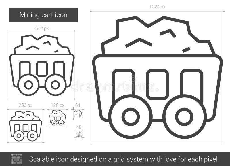 Bryta vagnslinjen symbol vektor illustrationer