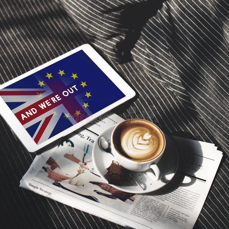 Brytania UE Brexit referendum pojęcie zdjęcia royalty free