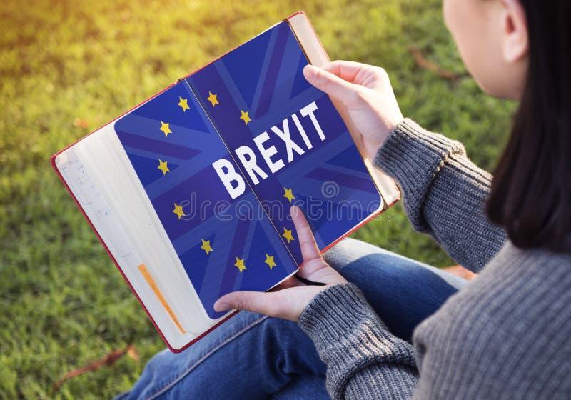 Brytania UE Brexit referendum pojęcie zdjęcie royalty free