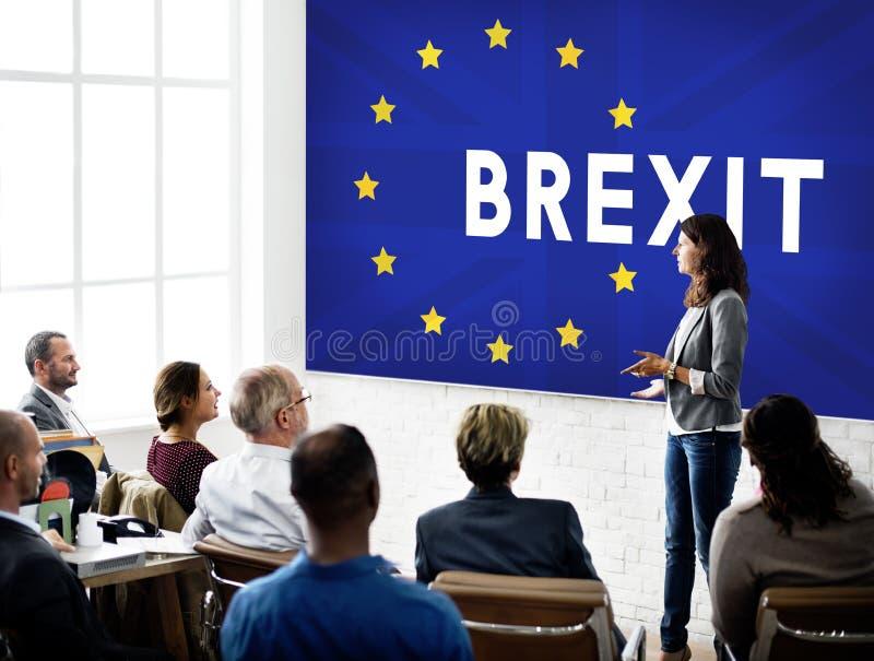 Brytania UE Brexit referendum pojęcie obraz royalty free