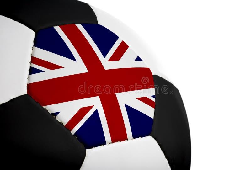 brytyjczycy futbol bandery obrazy stock