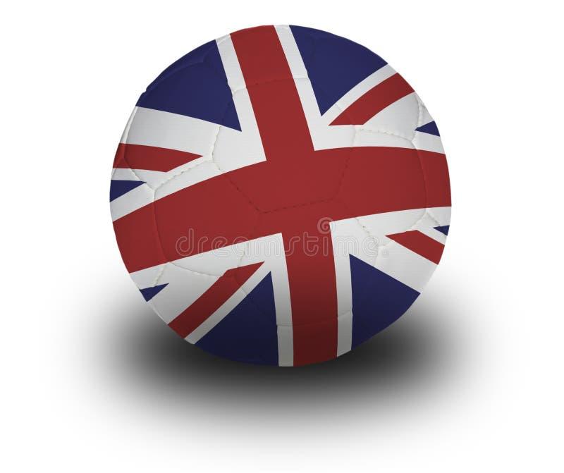brytyjczycy piłkę obraz stock