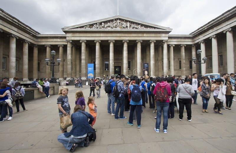 brytyjscy muzealni turyści obrazy royalty free
