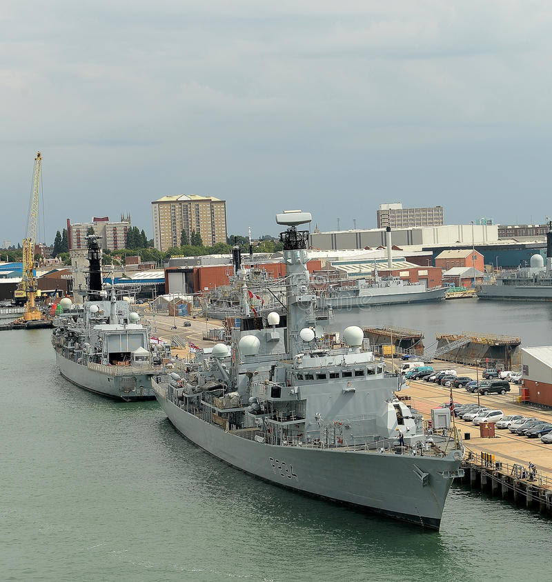 Download Brytyjscy Okręty Wojenni Fotografia Editorial - Obraz: 32824187