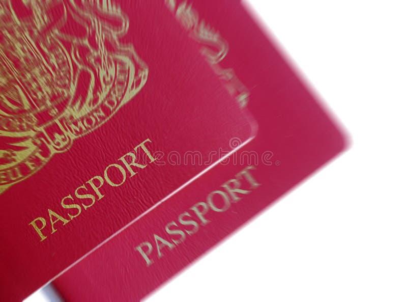 brytyjscy paszporty zdjęcia stock