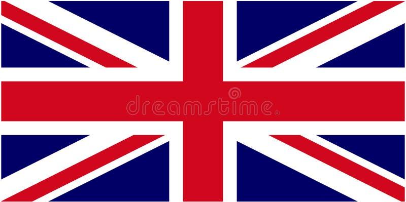 brytyjska flagę ilustracji