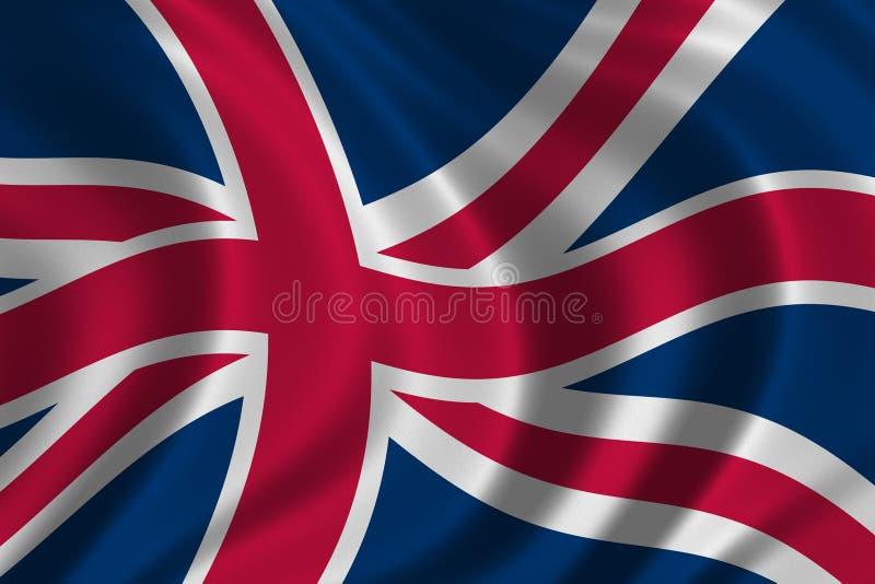 brytyjska flagę royalty ilustracja