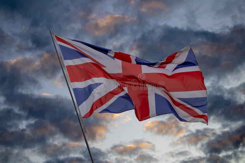 brytyjska flag? zdjęcie stock